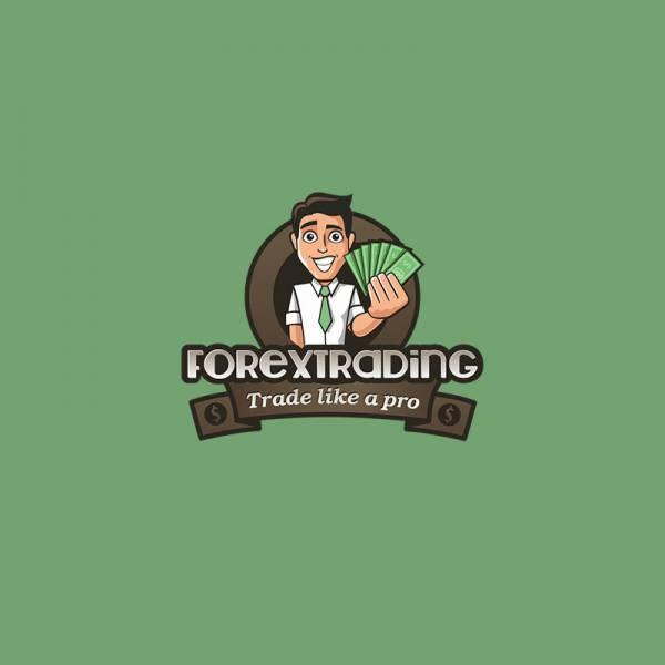Логотип с персонажем Forextreding