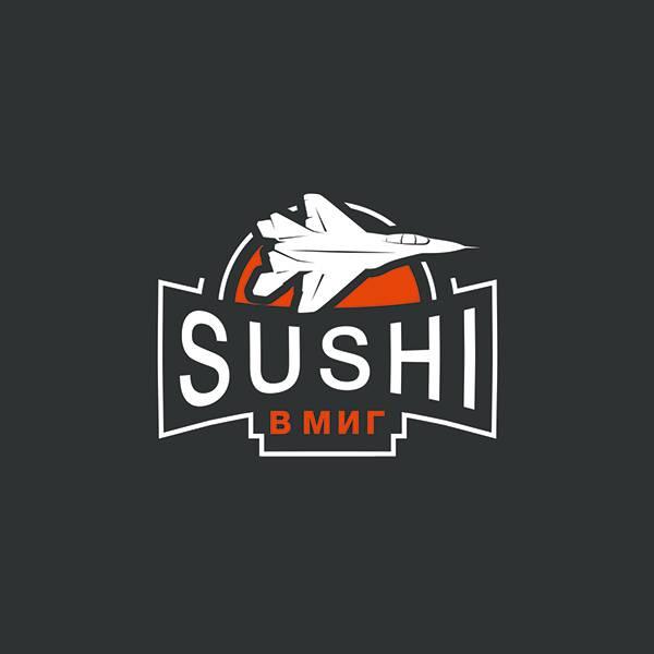 "Логотип ""Суши в Миг"""